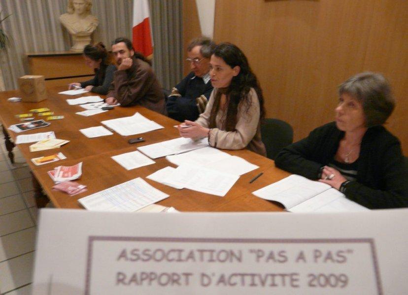 Pas à Pas - AG 2010