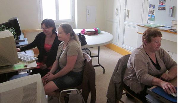 Des ateliers sur le numérique avec Pas à pas (Villeneuve-sur-Lot)