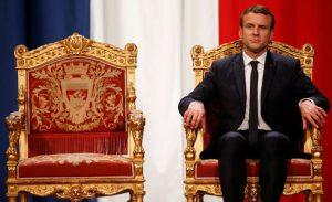 Emmanuel Macron et les rois de France
