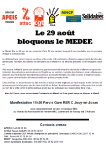 Bloquons le MEDEF-TRACT