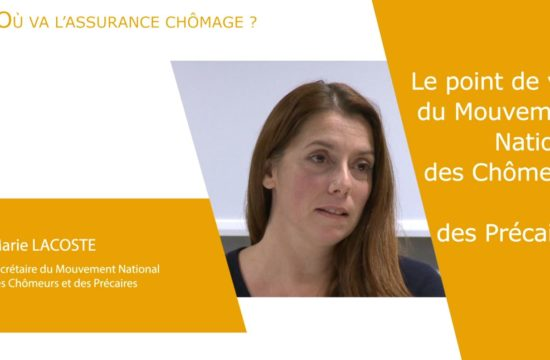 Marie Lacoste au Laboratoire des idées sur la réforme de l'assurance chômage [vidéo]