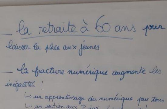 Partage la Faourette rédige son cahier de doléances (Toulouse)