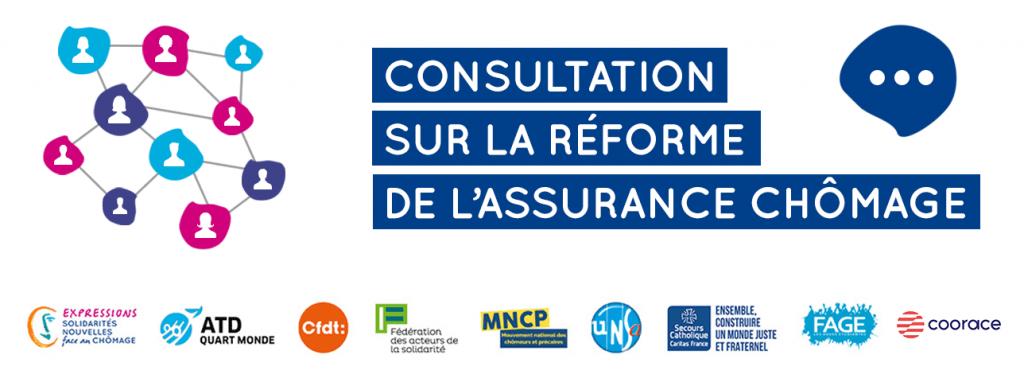 consultation réforme assurance chômage