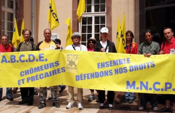 ABCDE alerte Sylvain Waserman, député du Bas-rhin, sur la situation des chômeurs (Strasbourg)
