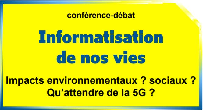 Un débat sur l'informatisation de nos vies le 25/09 avec MACS 09 (Saint-Girons)
