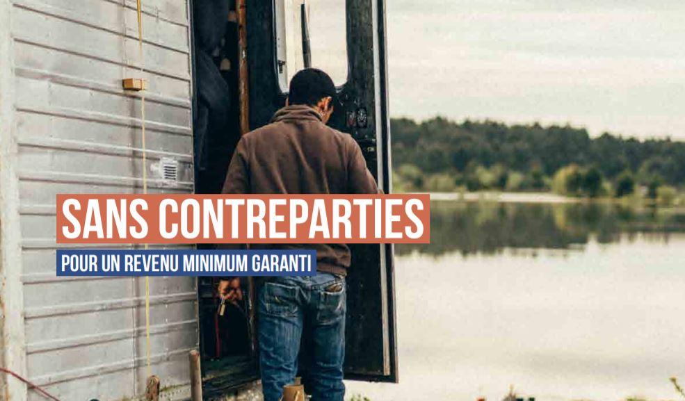 Le MNCP soutient le rapport : « Sans contreparties – Pour un revenu minimum garanti »