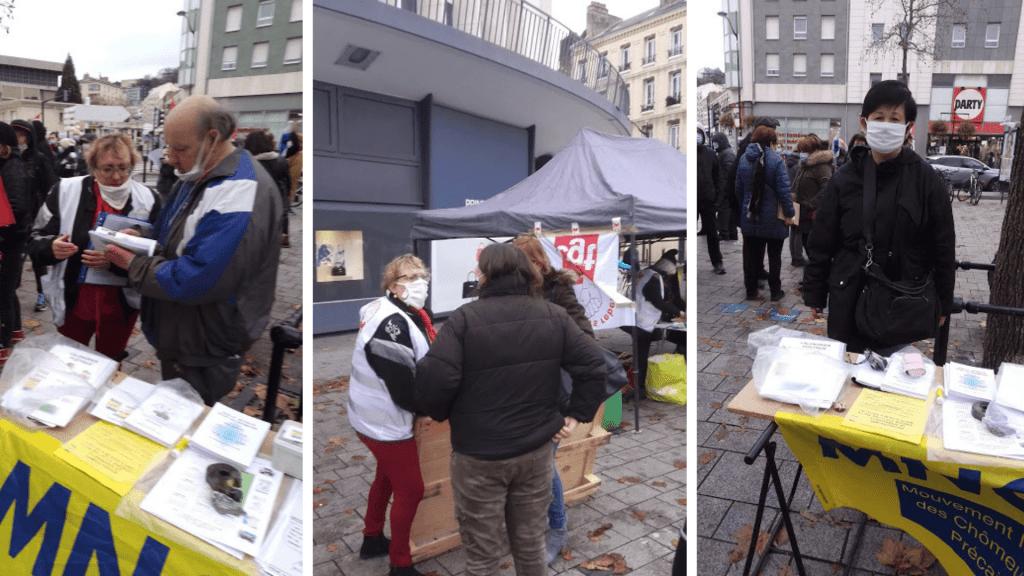L'AHCP participe à une soupe populaire (Le Havre)