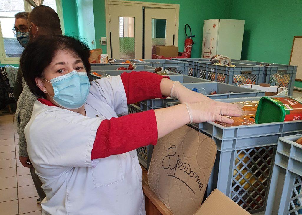 L'AMS continue la distribution de colis alimentaires et améliore l'équipement de ses locaux (Montluçon)