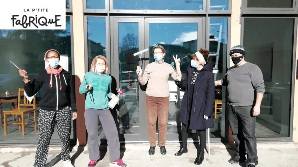 La P'tite Fabrique : le nouvel espace convivial de la fabrique solidaire (Toulouse)