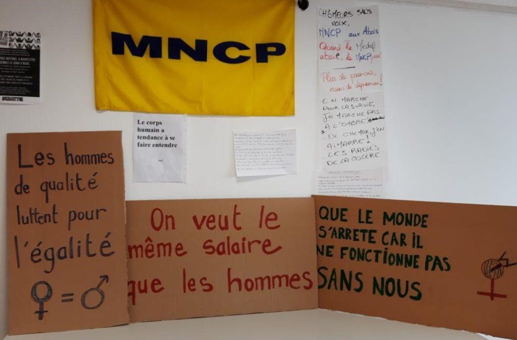 Partage dans la rue le 8 mars pour la journée internationale des droits des femmes (Toulouse)