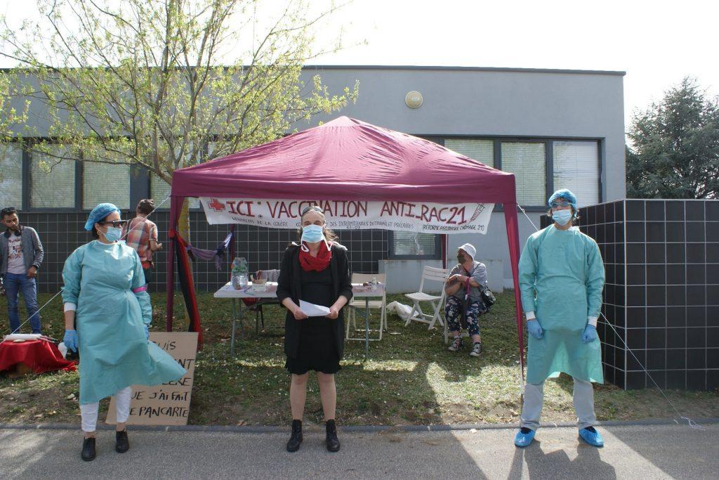 Chôm'actif participe à la campagne de vaccination contre la RAC21 (Clermont-Ferrand)