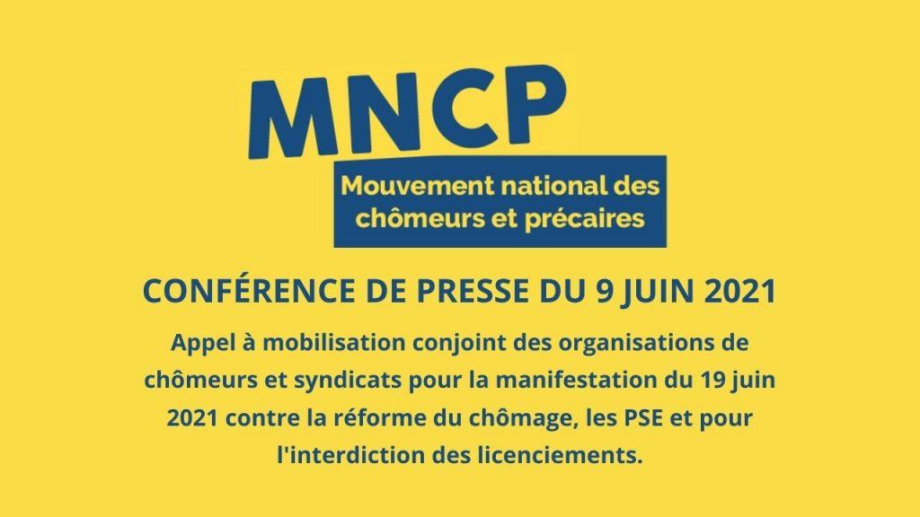Appel à manifestation le 19 juin à Paris